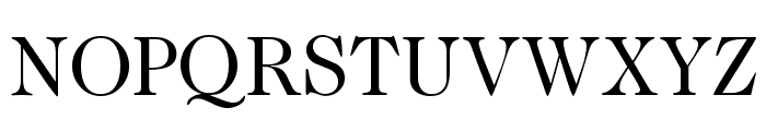 CaslonTwoSSK Font UPPERCASE