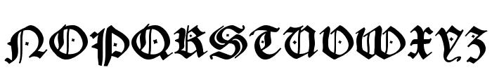 CaslonishFraxx Font UPPERCASE