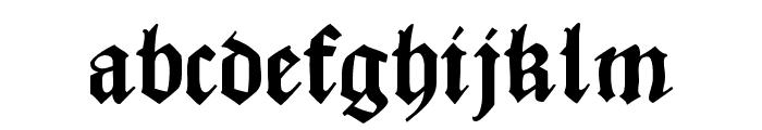 CaslonishFraxx Font LOWERCASE