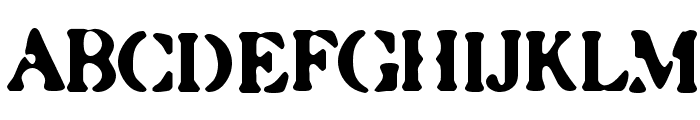 Caslonostrate Font UPPERCASE