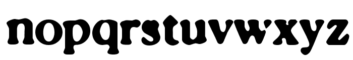 Caslonostrate Font LOWERCASE