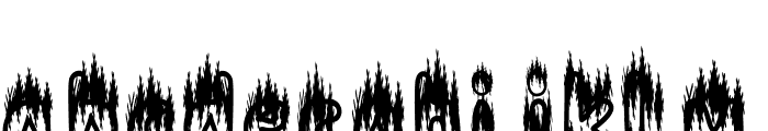 Caspana Font LOWERCASE