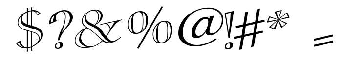 CasqueOpenFaceWacky Font OTHER CHARS