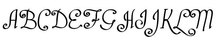Castal Street Bold Font UPPERCASE