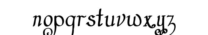 Castal Street Bold Font LOWERCASE