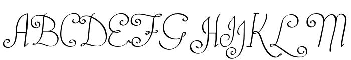 Castal Street Font UPPERCASE