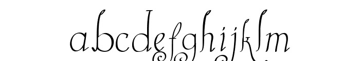 Castal Street Font LOWERCASE