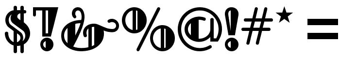 Castileo Medium Font OTHER CHARS