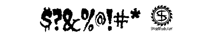 Castle Dracustein Font OTHER CHARS