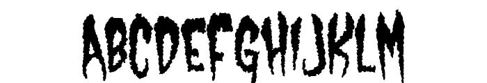Castle Dracustein Font UPPERCASE