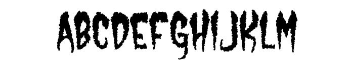 Castle Dracustein Font LOWERCASE