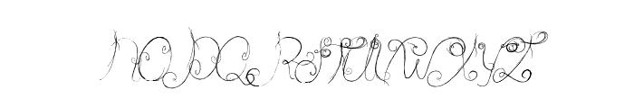 Castle Octopus Font UPPERCASE