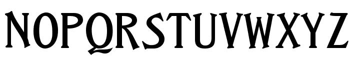 CastleOpti Font UPPERCASE