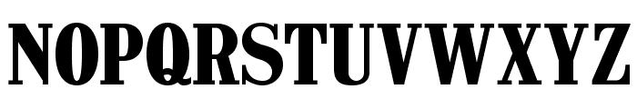CastlePressNo1 Font UPPERCASE