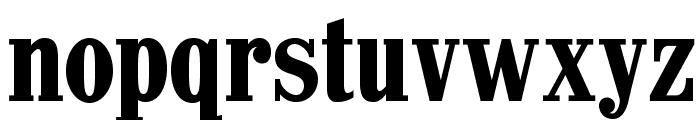 CastlePressNo1 Font LOWERCASE