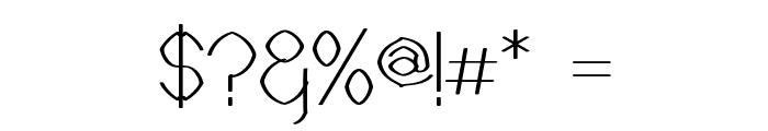 Castorgate - Rough Font OTHER CHARS