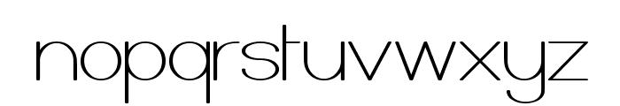 Castorgate Font LOWERCASE