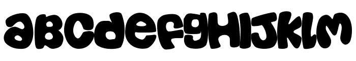 Casual Font UPPERCASE