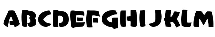 CasualMarkerMF Font UPPERCASE