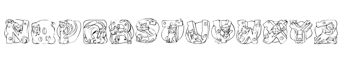 Cat Cat Font LOWERCASE