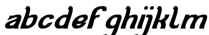 Cat Eyes Bold Italic Font LOWERCASE