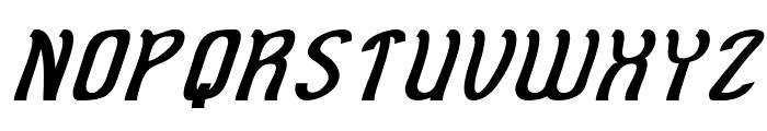 Cat Eyes Italic Font UPPERCASE