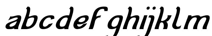 Cat Eyes Italic Font LOWERCASE
