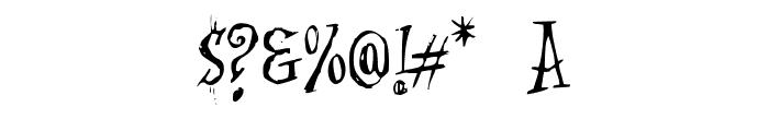 Cat-Krap- Font OTHER CHARS