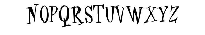 Cat-Krap- Font UPPERCASE
