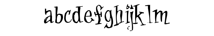 Cat-Krap- Font LOWERCASE