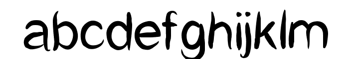 CatCaf Font LOWERCASE