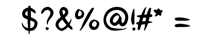 CatCafe Font OTHER CHARS