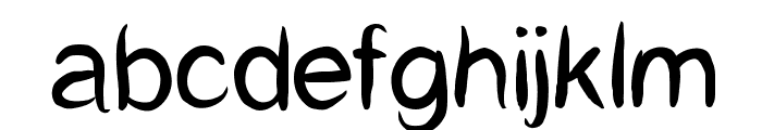 CatCafe Font LOWERCASE