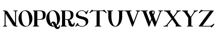 CatShop Font UPPERCASE