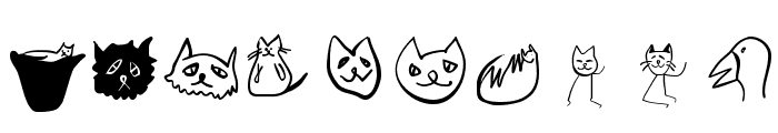 CatSketches Font OTHER CHARS