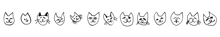 CatSketches Font UPPERCASE