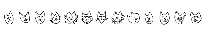 CatSketches Font LOWERCASE