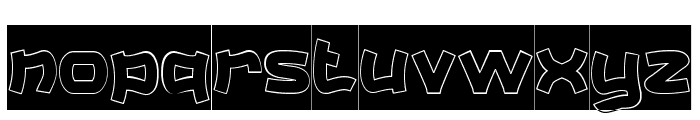 Catalyst-Hollow-Inverse Font LOWERCASE