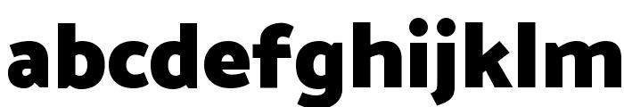Catamaran Black Font LOWERCASE