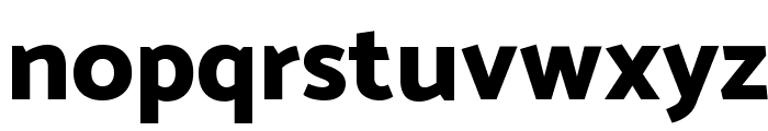 Catamaran ExtraBold Font LOWERCASE
