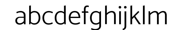 Catamaran Light Font LOWERCASE