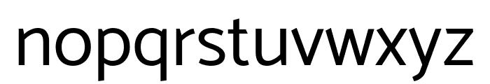 Catamaran Regular Font LOWERCASE