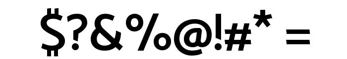 Catamaran SemiBold Font OTHER CHARS