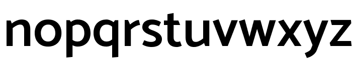Catamaran SemiBold Font LOWERCASE