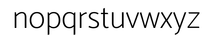 Catamaran Thin Font LOWERCASE