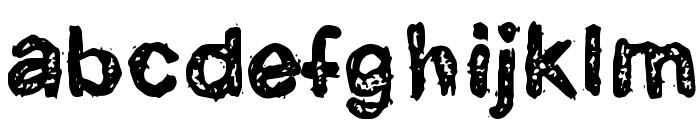 CatarataOne Font LOWERCASE