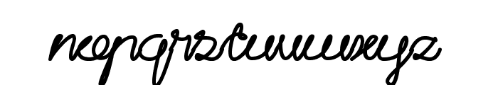Catatan Harian Font LOWERCASE