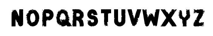 Catenary Stamp Font LOWERCASE