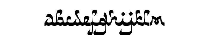 Catharsis Bedouin Font LOWERCASE