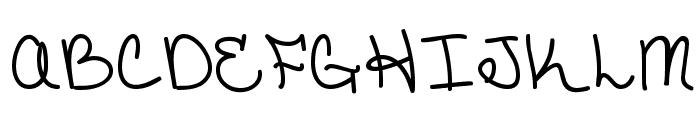 CatholicSchoolGirls BB Font UPPERCASE